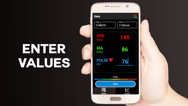 Blood Pressure Logger : Scan Tracker, Checker Test pc screenshot 1