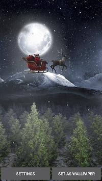 Santa 3D Live Wallpaper pc screenshot 1