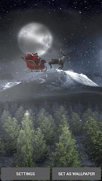 Santa 3D Live Wallpaper pc screenshot 2