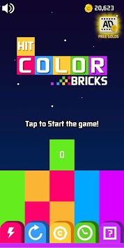 Hit Color Brick pc screenshot 1