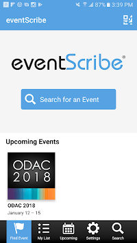 eventScribe pc screenshot 1