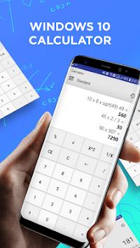 Calculator for window 10 pc screenshot 1