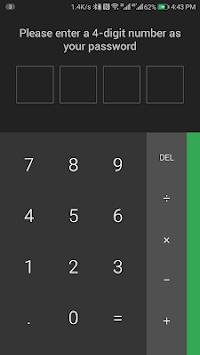 Calculator Vault Lite 64 Support pc screenshot 1