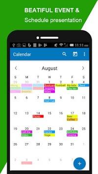 Calendar Scheduler Agenda Planner pc screenshot 1