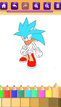 Sonic Coloring books cmz 2018 pc screenshot 1