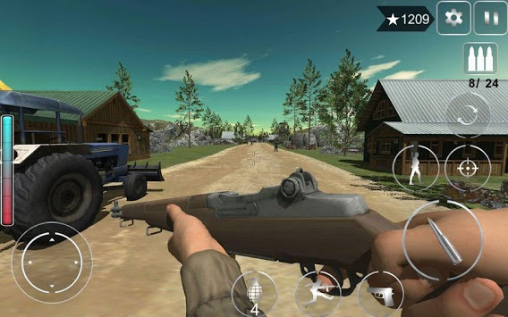 Call Of Courage : WW2 FPS Action Game pc screenshot 1