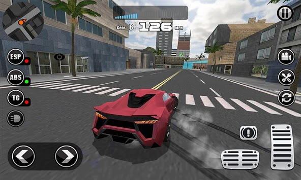 Fanatical Car Driving Simulator pc screenshot 1