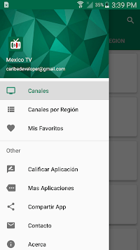 Mexico TV 2019 - Mexican Television pc screenshot 2