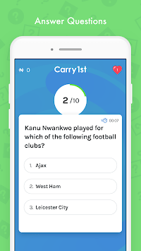 Carry1st: Live Trivia Game pc screenshot 1