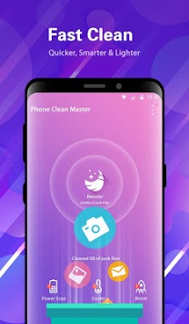 Phone Clean Master - 📲 Cleaner, Cooler & Booster pc screenshot 2