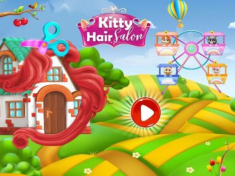 Pet Kitty Hair Salon Hairstyle Makeover pc screenshot 1