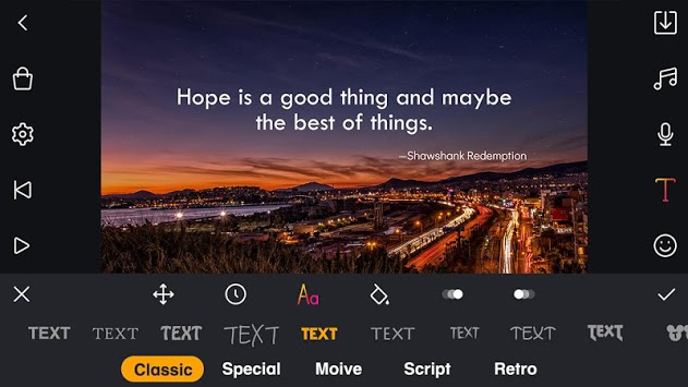 Film Maker Pro - free movie editor for imovie pc screenshot 1
