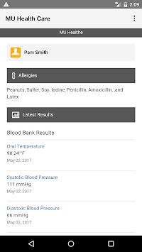 MU Health Care pc screenshot 1