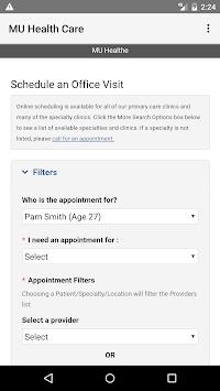MU Health Care pc screenshot 2