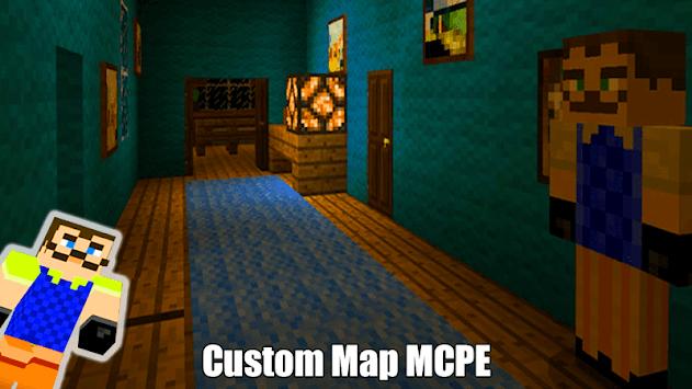 Map Of Hi Neighbor For MCPE Guides pc screenshot 2