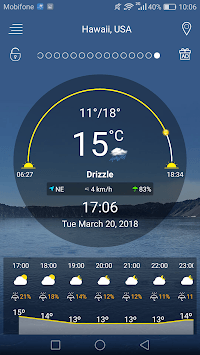 Weather forecast pc screenshot 1