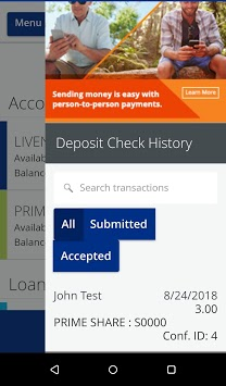 Chartway Online Banking pc screenshot 2