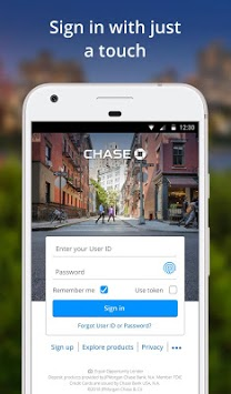 Chase Mobile pc screenshot 1