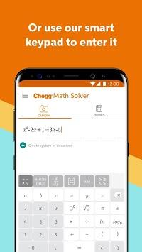 Chegg Math Solver - guided math problem solver pc screenshot 1