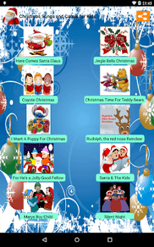 Christmas Songs for Kids pc screenshot 1