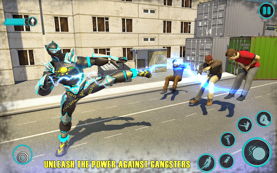 Flying Panther Speed Hero Robot Games pc screenshot 1