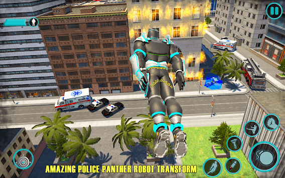 Flying Panther Speed Hero Robot Games pc screenshot 2