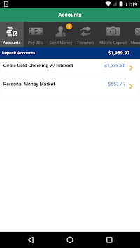 Citizens Bank Mobile Banking pc screenshot 1
