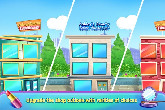 Ashley's Beauty Salon Spa Makeover - Girl Games pc screenshot 1