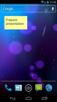 Simple Sticky Note Widget pc screenshot 1