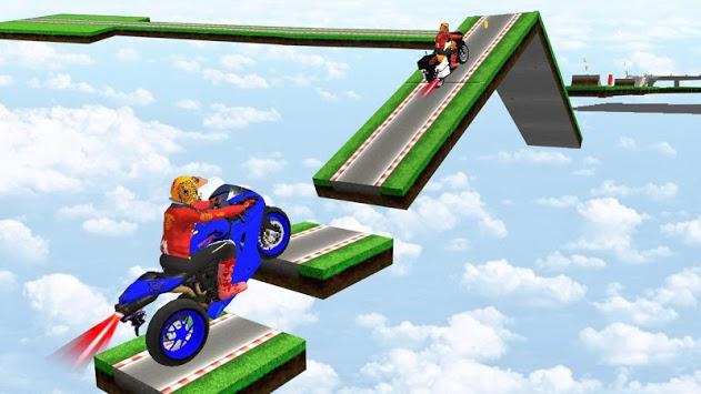 Motorcycle Stunts Game:Sky Runner Bike Stunts pc screenshot 2