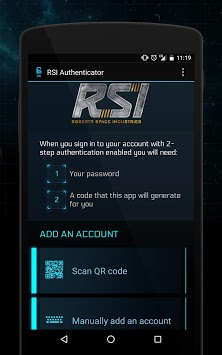 Star Citizen Authenticator pc screenshot 1