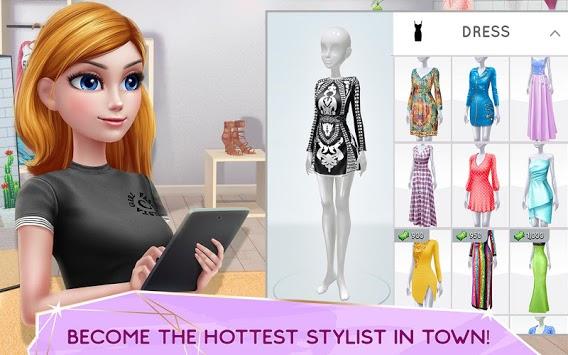 Super Stylist - Dress Up & Style Fashion Guru pc screenshot 1