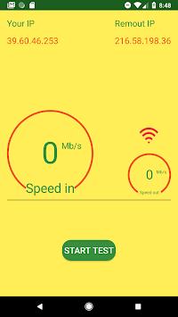 Internet Speed Test pc screenshot 1