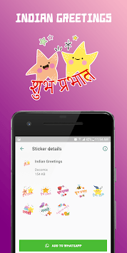 WAStickerApps - Greetings (Multi Language) pc screenshot 1