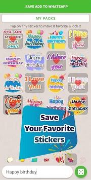 Texticker, Create Text Stickers - WAStickerApps pc screenshot 1