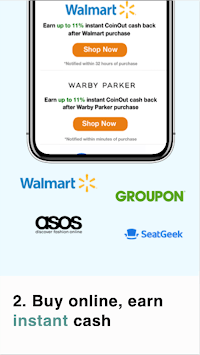 CoinOut - Your Digital Wallet pc screenshot 1