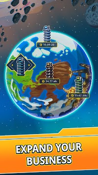 Idle Space Tycoon - Incremental Cash Game pc screenshot 1