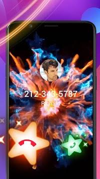 Colorful Fire Caller Screen pc screenshot 1