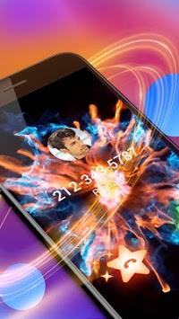 Colorful Fire Caller Screen pc screenshot 2