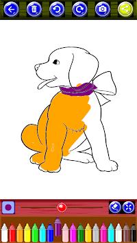 Coloring Book Super Dogs pc screenshot 1