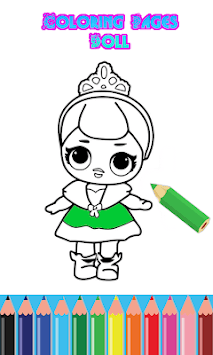 Creative Coloring Pages Lol Surprise Dolls pc screenshot 1