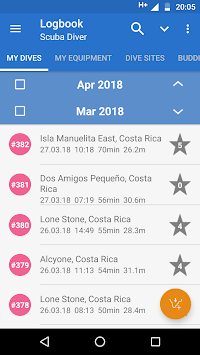 DiveMate (Scuba Dive Log) pc screenshot 1