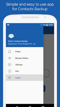 Smart Contacts Backup - (My Contacts Backup) pc screenshot 2