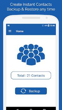 Smart Contacts Backup - (My Contacts Backup) pc screenshot 1