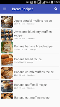 Bread recipes with photo offline pc screenshot 1