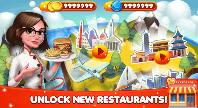 Cooking World - Chef Food Games & Restaurant Fever pc screenshot 2