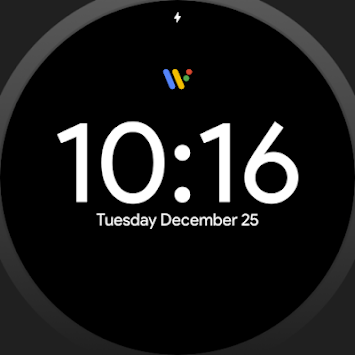 Pixel Watch face - Minimal pixel style watch face pc screenshot 2