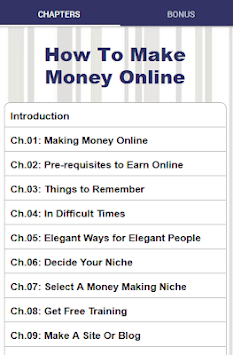 How To Make Money Online - Work At Home pc screenshot 1