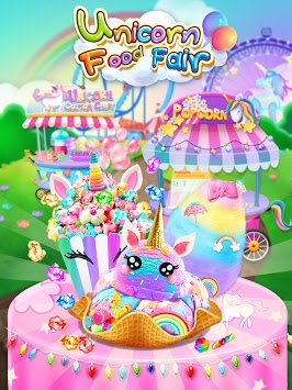 Carnival Unicorn Fair Food - The Trendy Carnival pc screenshot 1