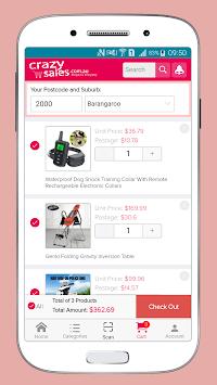Crazysales Online Shopping Australia pc screenshot 1